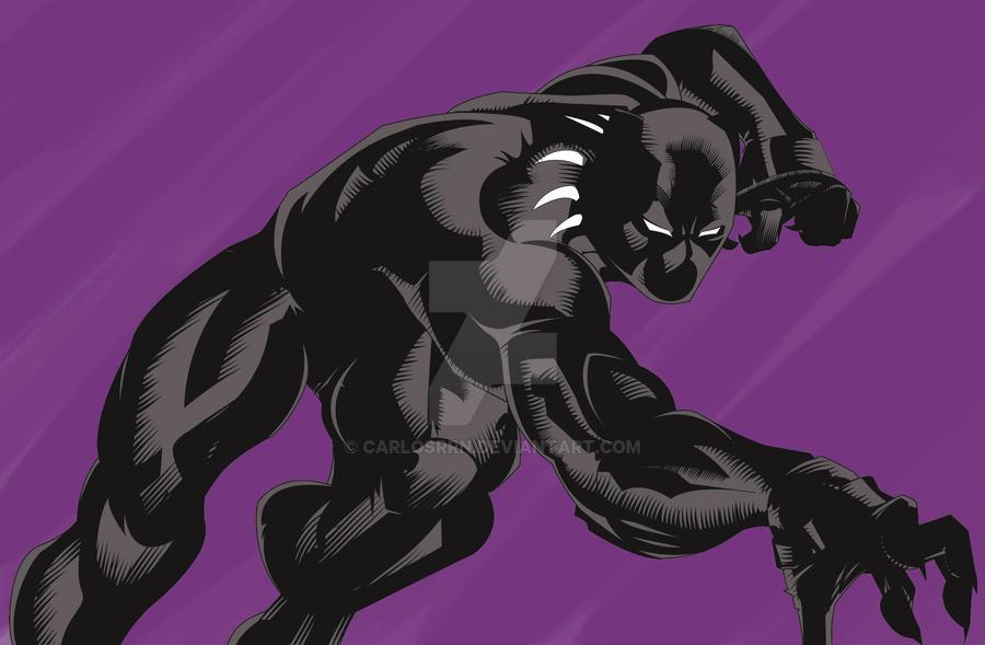 Black Panther By Portela On Deviantart: Black Panther By CarlosRRN On DeviantArt