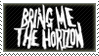 Bring Me The Horizon Stamp by Kagewa