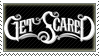 Get Scared Stamp by Flynnux