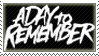 A Day To Remember Stamp
