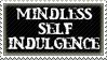 Mindless Self Indulgence Stamp