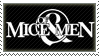 Of Mice And Men Stamp by Fruitily