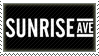 Sunrise Avenue Stamp by Fruitily