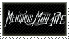 Memphis May Fire Stamp by Fruitily
