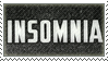 Insomnia Stamp by Fruitily