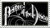 Panic! at the Disco Stamp
