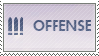 Overwatch Offense Stamp by Flynnux