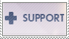 Overwatch Support Stamp