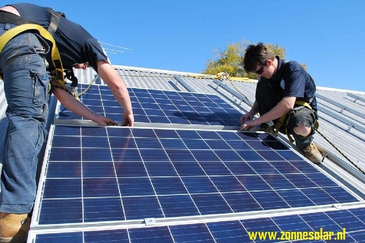 Kan het zich niet veroorloven om zonnepanelen te k