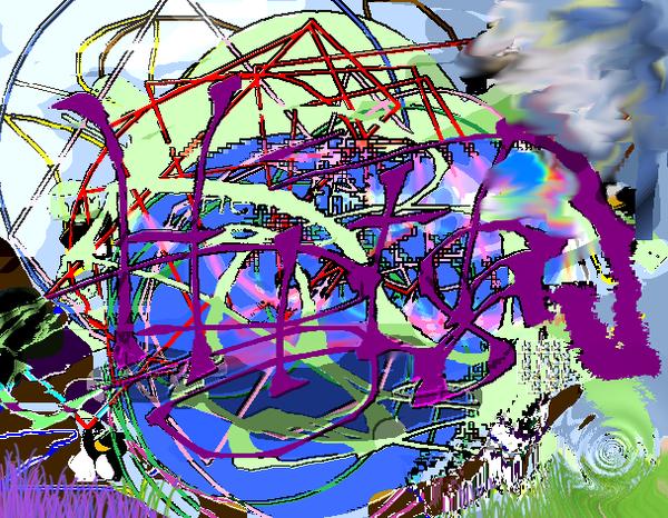 Crazy Experimentation Piece by Arkylie