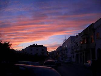 Sundown in Dome street by Koryuu