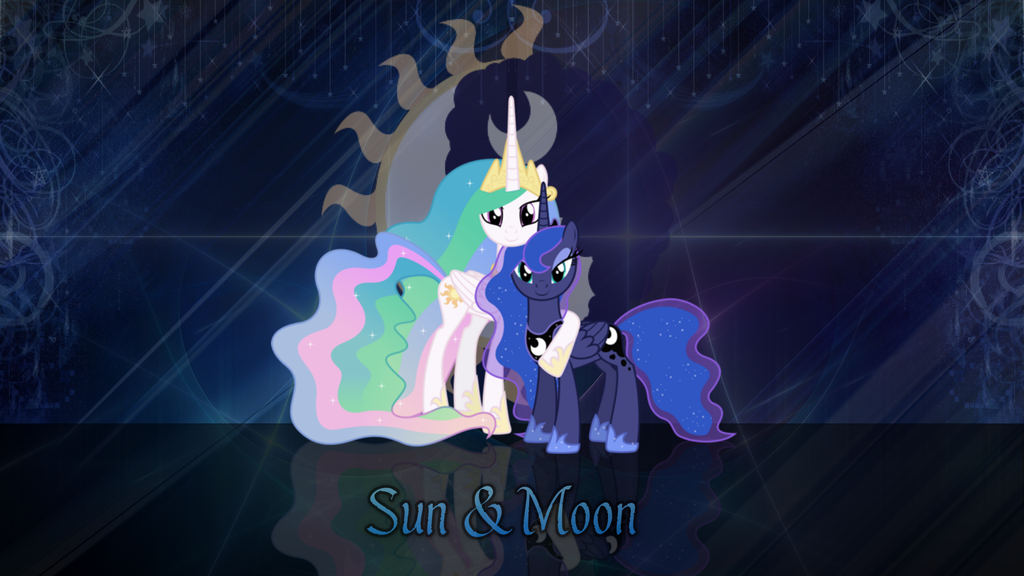 Sun and Moon by RedlionxDarkHeart