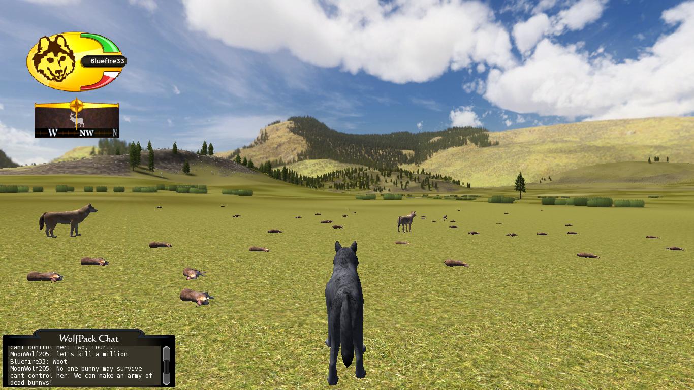 Wolf Quest Controls