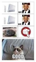 Grumpy cat and song meme