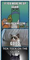 Funny animal meme comic