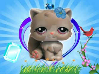 Lps Persian Cat