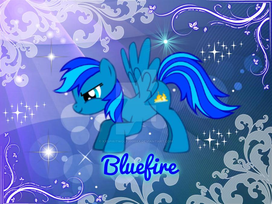 Mlp OC blue fire
