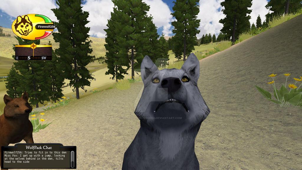 WolfQuest Screenshot Close up