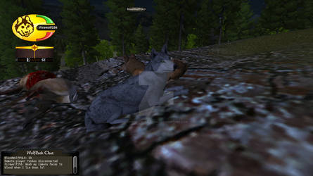 WolfQuest Screenshot: Fire and Ice