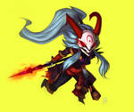 Blood Moon Kalista chibi