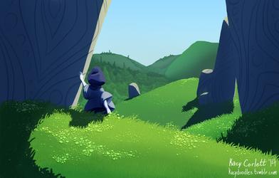 Little One Wandering - November by KacyDoodles