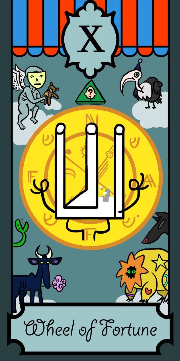 Al4Naffin Tarot Card by ThermalTheorist
