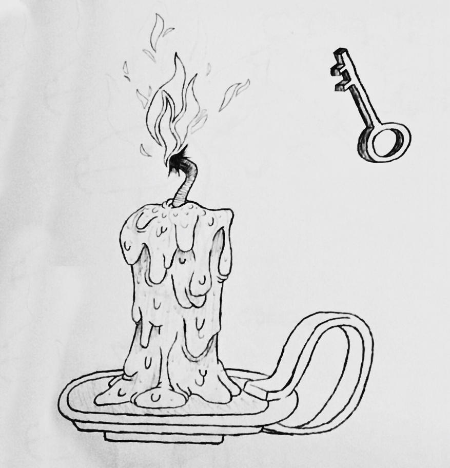 Candle Key - September of Draws Day 22 by ThermalTheorist