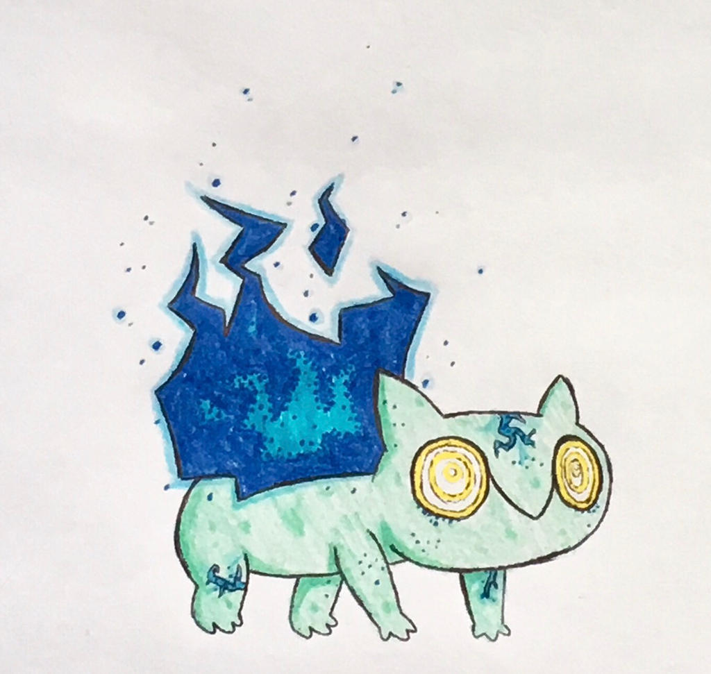 Ethereal Bulbasaur by ThermalTheorist