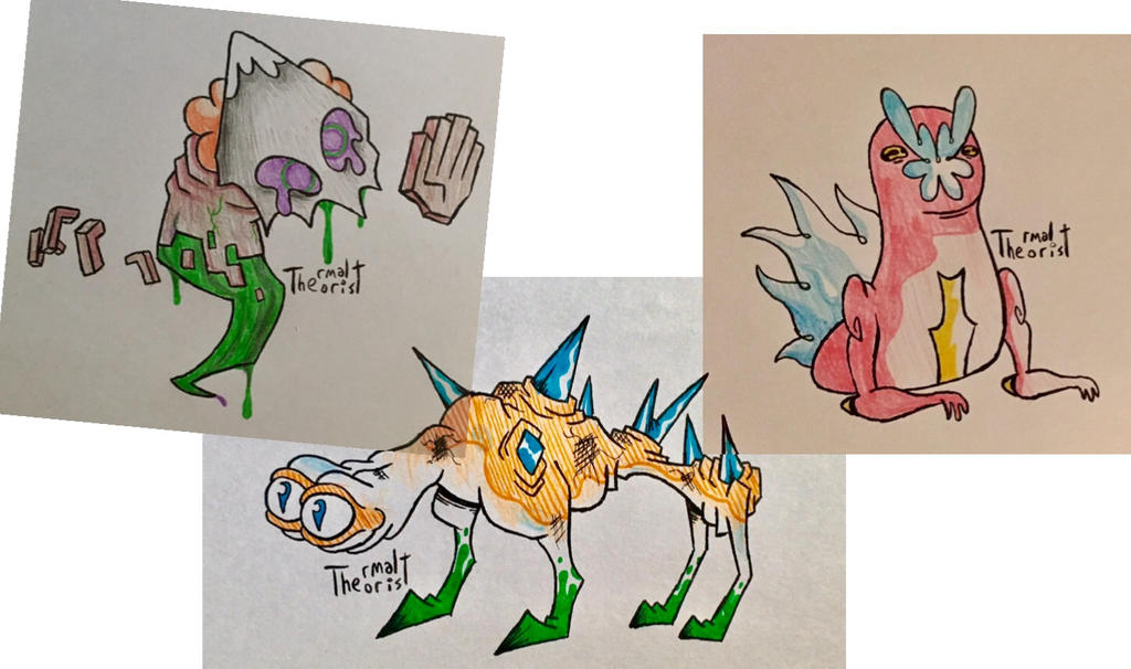 Twitter Critters by ThermalTheorist