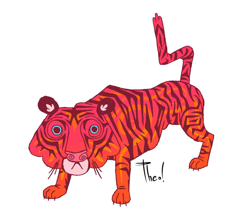 Tiger Stance by ThermalTheorist