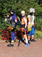 Team 7 Kingdom Hearts by Saki-Maru