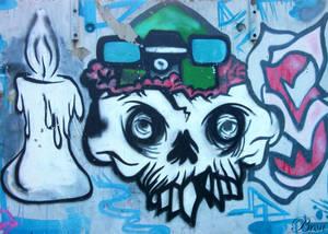 Street Art - Albion Park Rail Skate Park