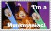 Munkmaniac Stamp by JeanetteSimon116