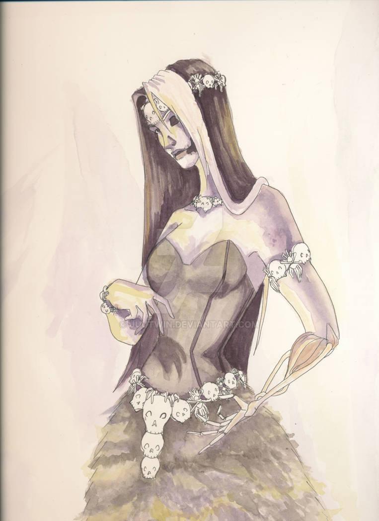 Hel Watercolor by Juutwin