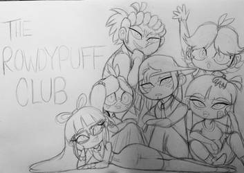 The RowdyPuff Club by FlakyFever