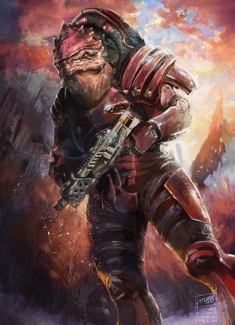 Wrex by Guzzardi