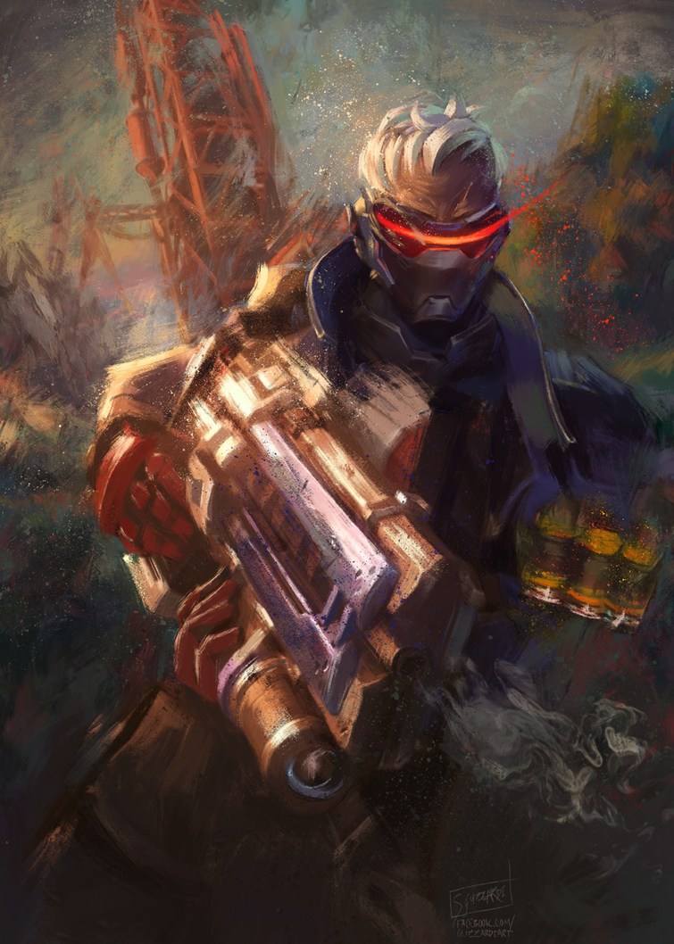Soldier76 by Guzzardi