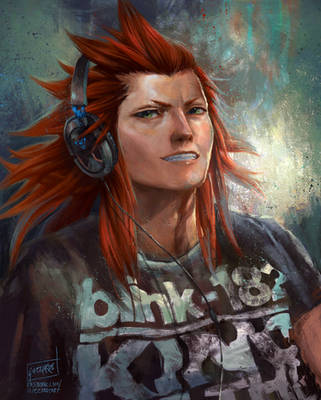 AXEL Kingdom Hearts 3 by Guzzardi