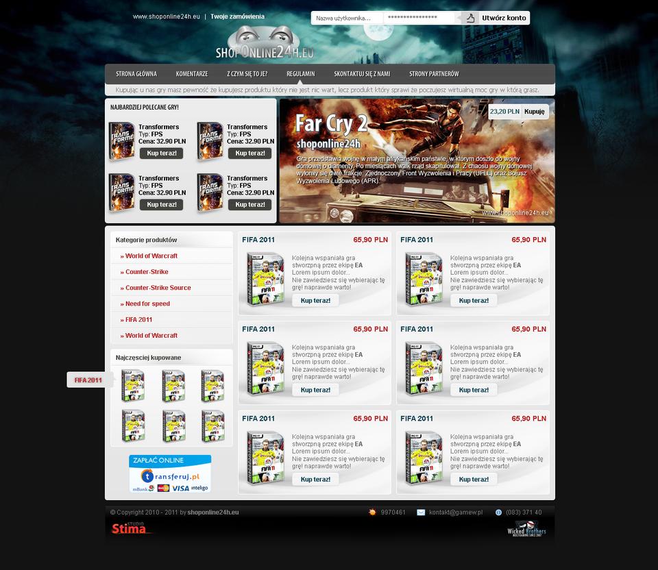 ShopOnline24H - CDkeys for games by sheppard100