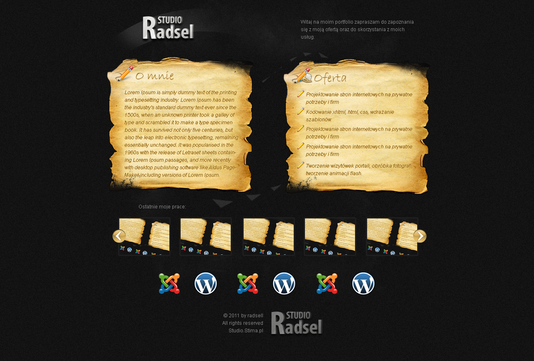 Radsell portfolio by sheppard100