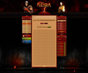 Restia MT2 by enyks.pl - statistics/player panel