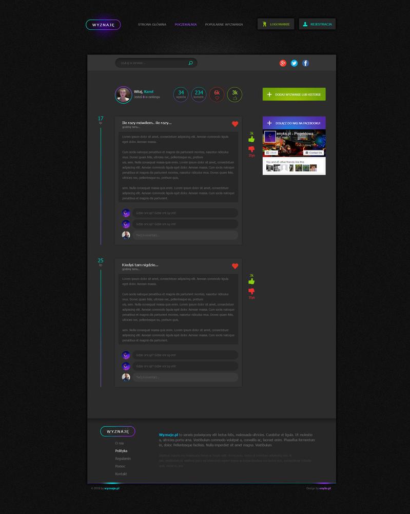 wyznaje simple project by enyks.pl by sheppard100