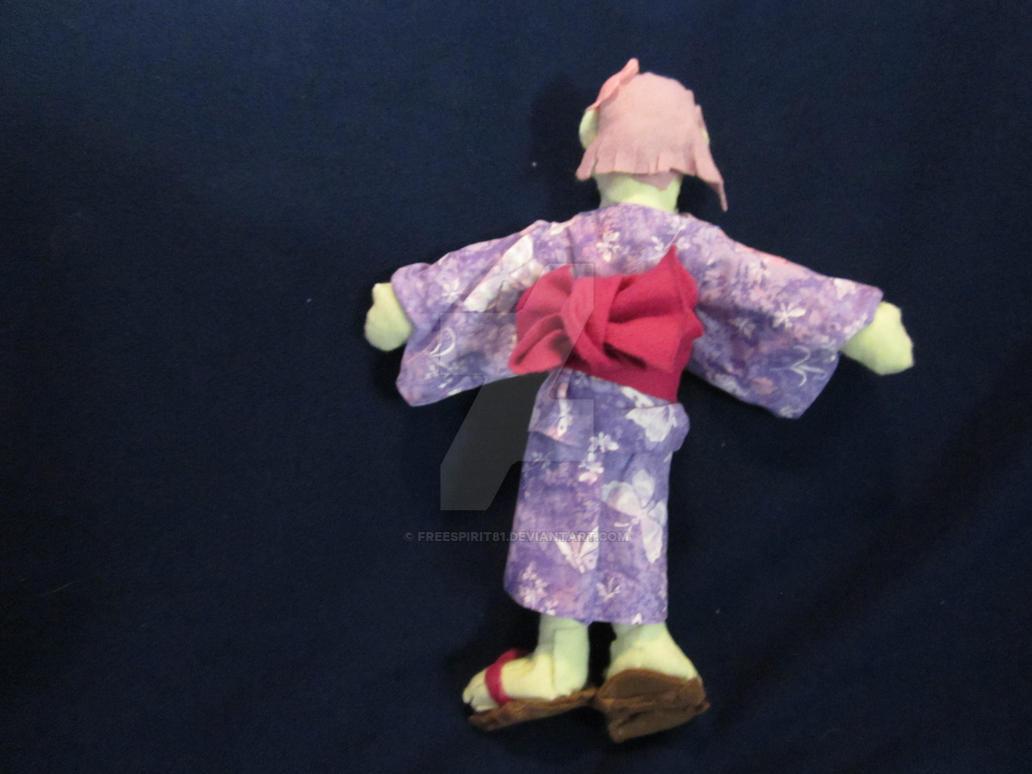 Sumire (OC) plush (back) by Freespirit81
