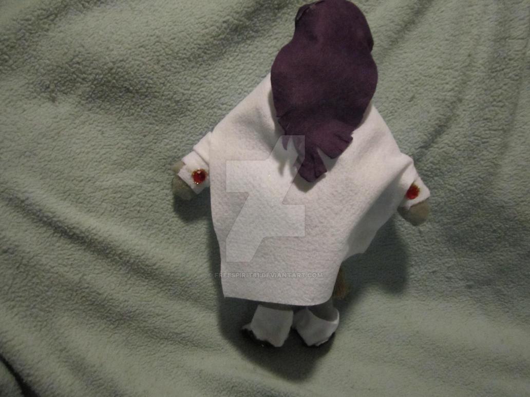 White Raven plush (Teen Titans) (back) by Freespirit81