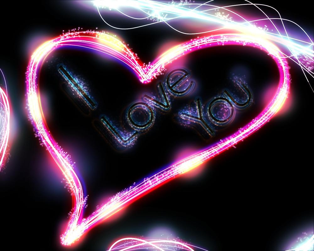 cool neon heart wallpaper - photo #14