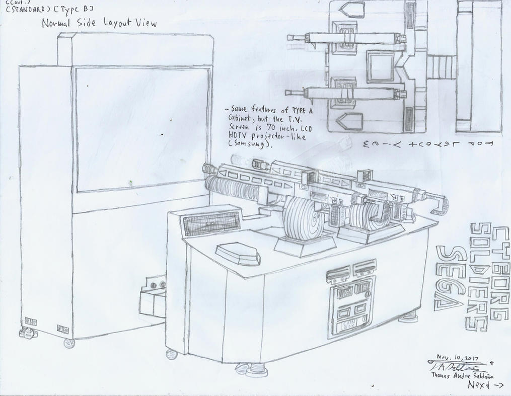 CYBORG SOLDIERS - Standard TYPE B Cabinet by tambok0599 on DeviantArt