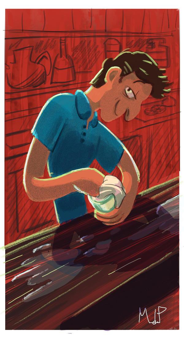 The Barman Blue by WongHyo