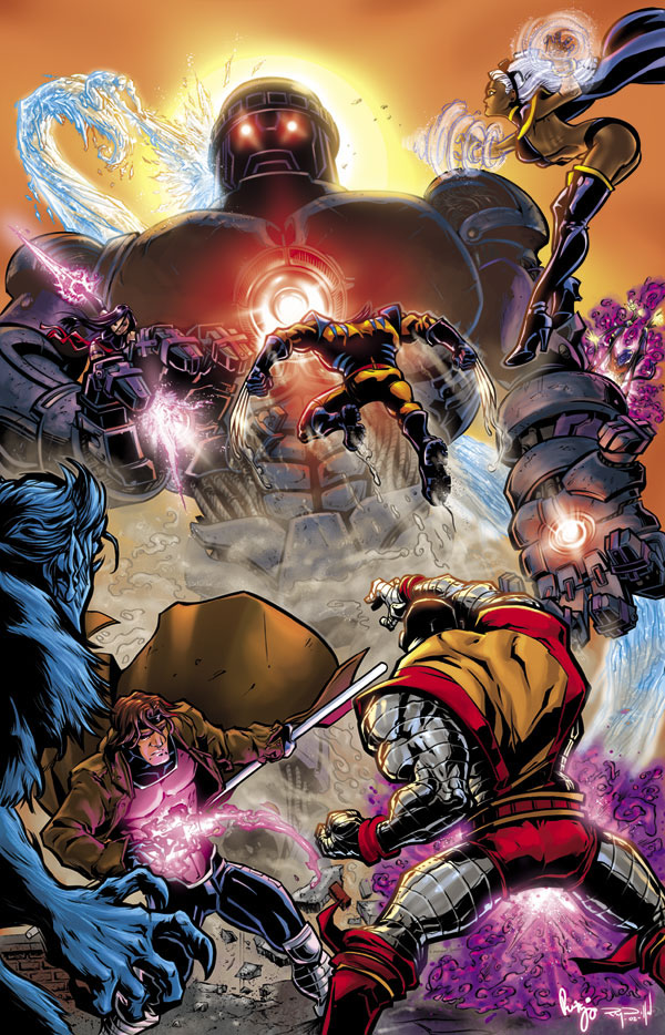 X-men: Renae DeLiz, Ray Dillon by GoldenGoatStudios