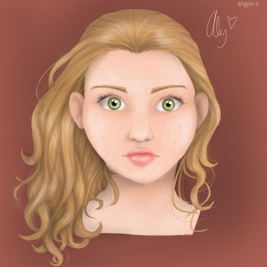 Green Eyes by AlydaBookworm