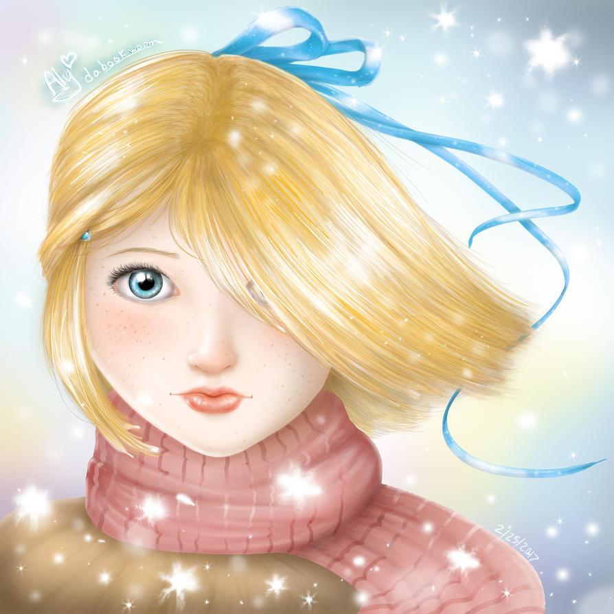 Snowfall by AlydaBookworm
